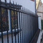 Fence rails with detail